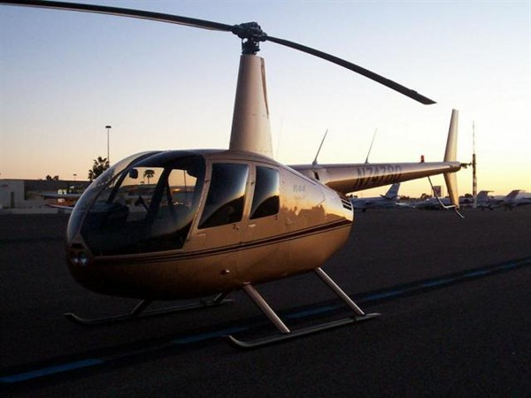 Helicopter Photo - R44