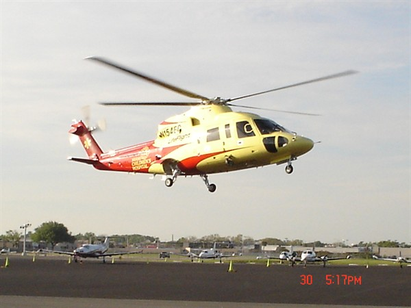 Helicopter Photo, S-76