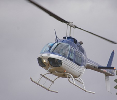Helicopter Photo - Bell 206B VH-CHV