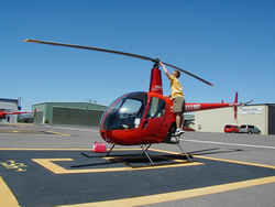 Flight Training Helicopter